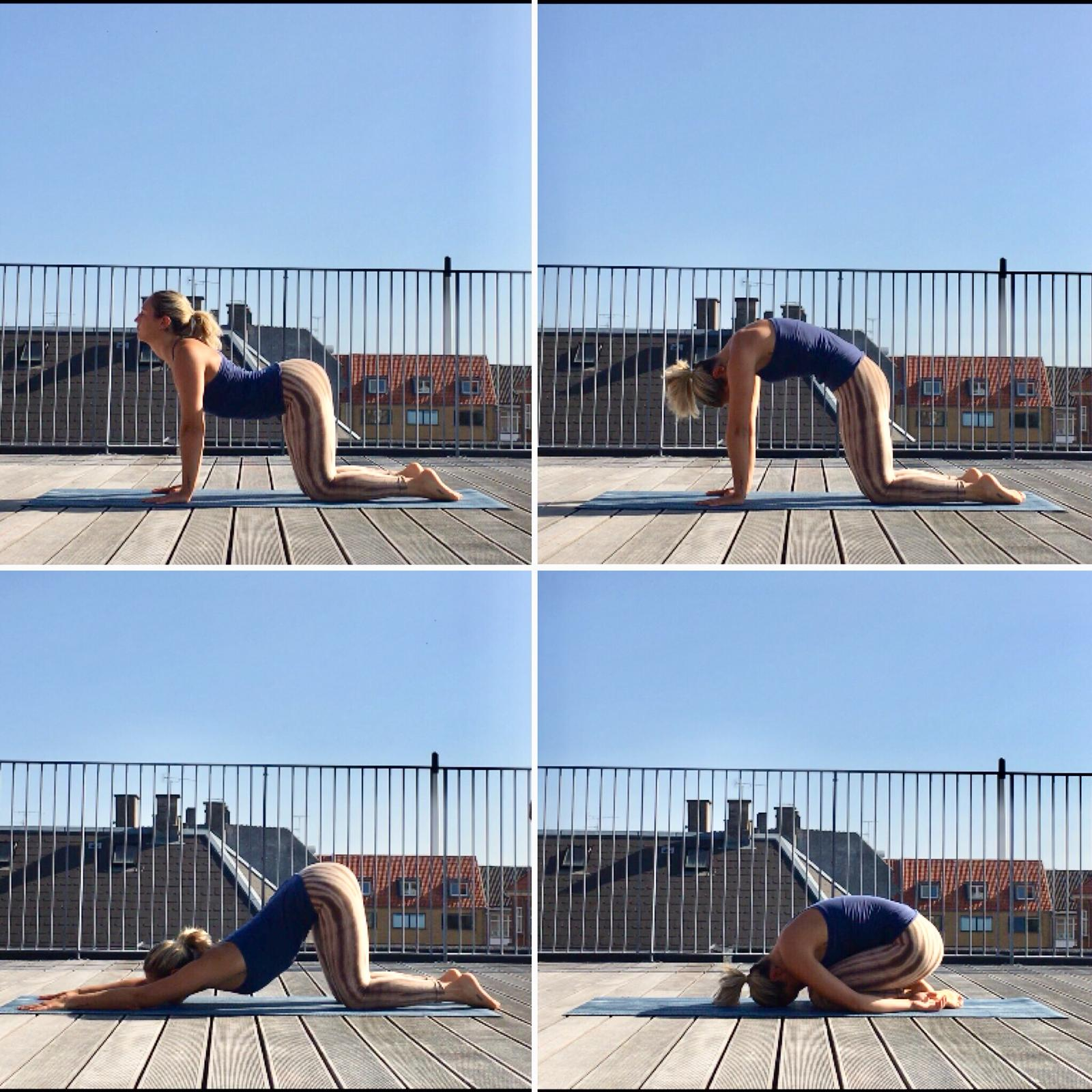Rooftop yoga sequence
